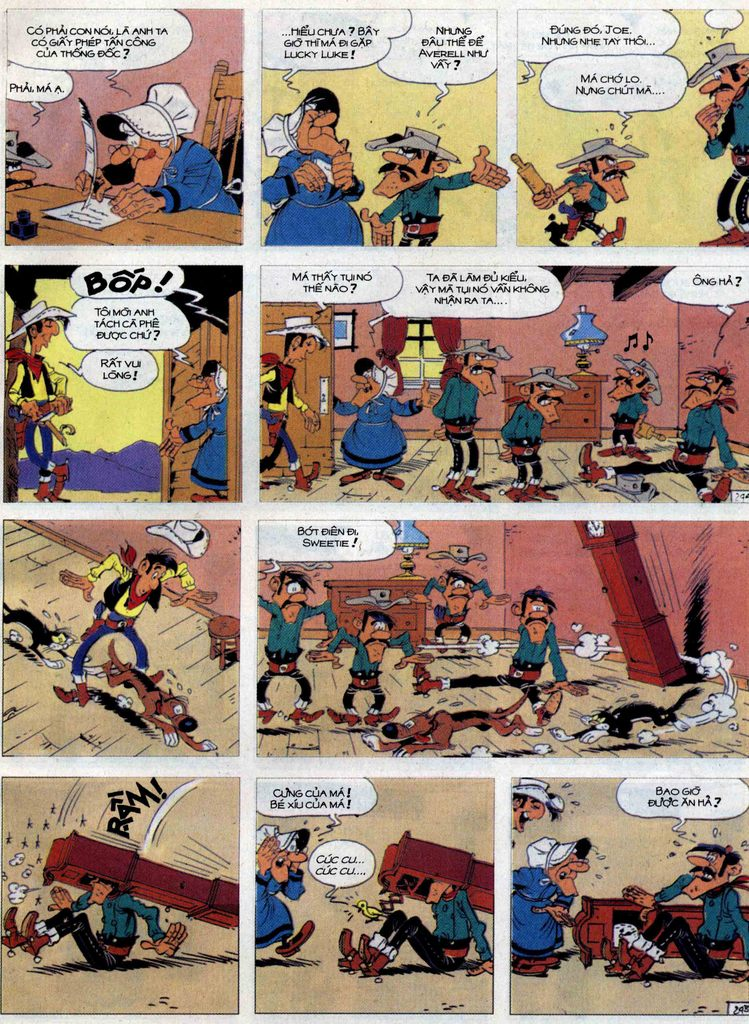 Lucky Luke tập 62 trang 29