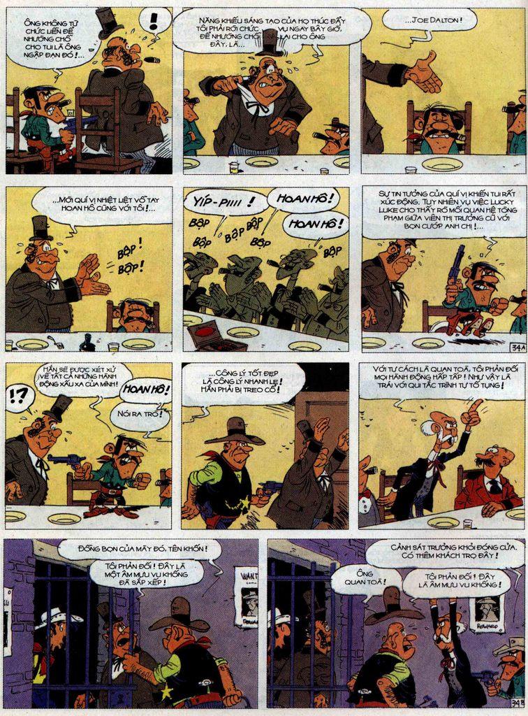 Lucky Luke tập 62 trang 34
