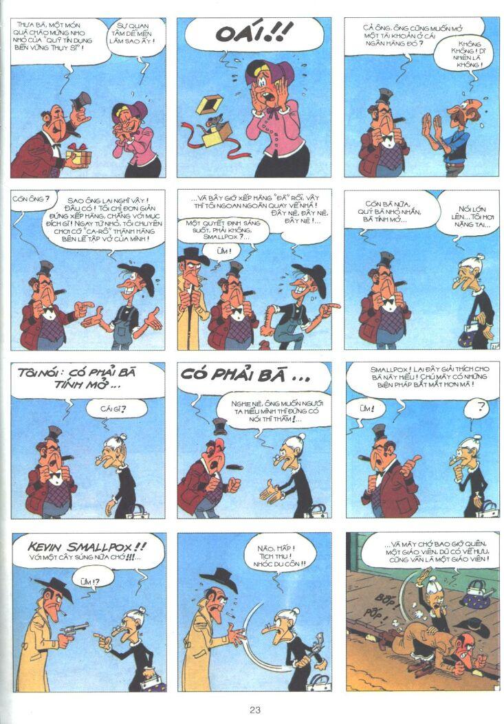 Lucky Luke tập 61 trang 21
