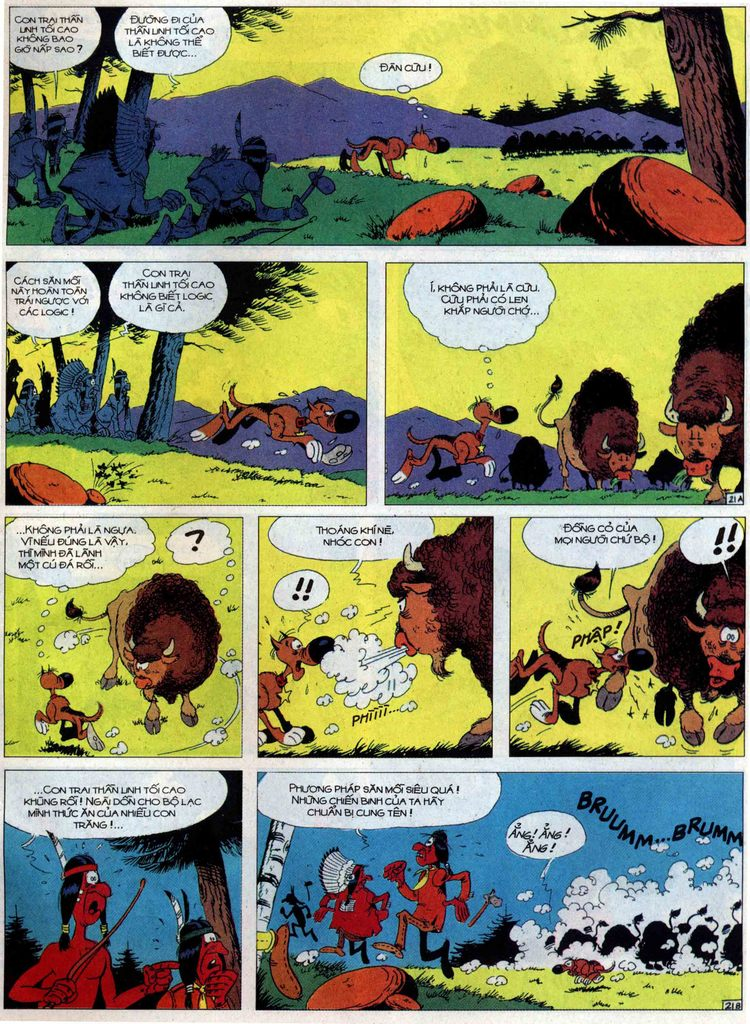 Lucky Luke tập 60 trang 21