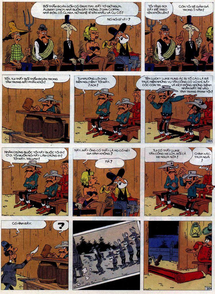 Lucky Luke tập 62 trang 38
