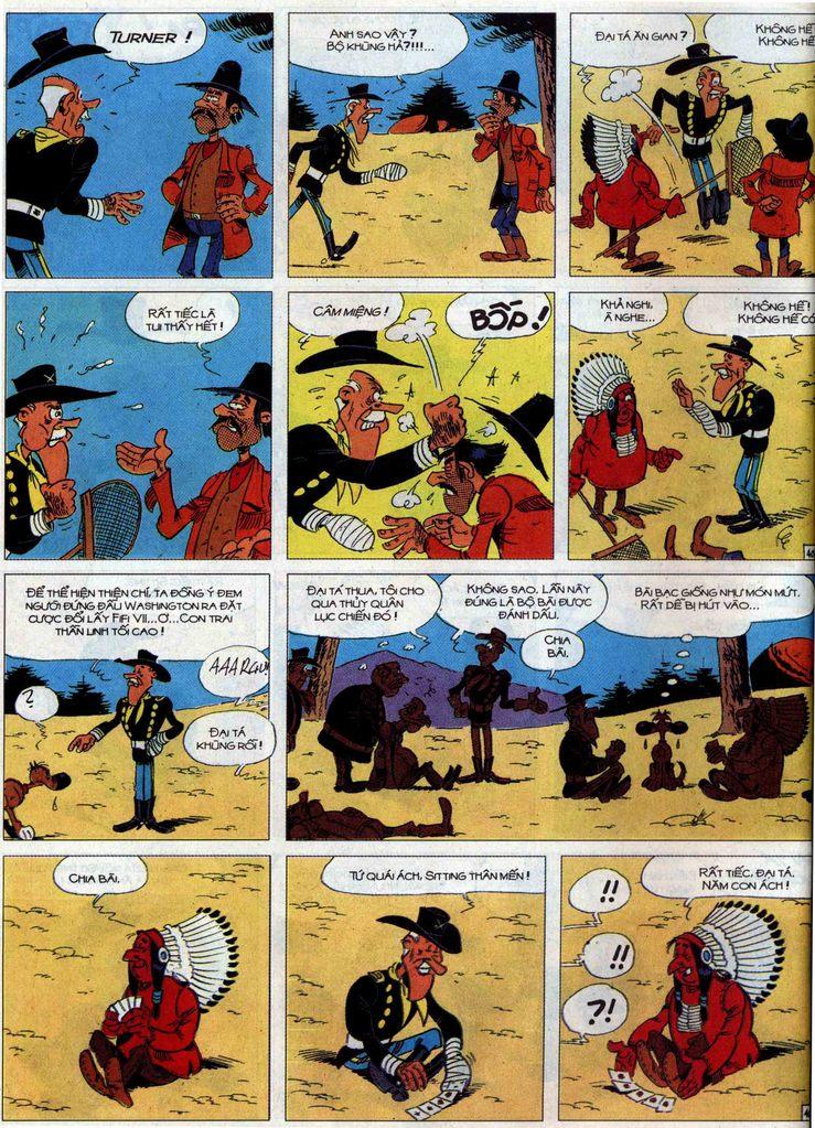 Lucky Luke tập 60 trang 40
