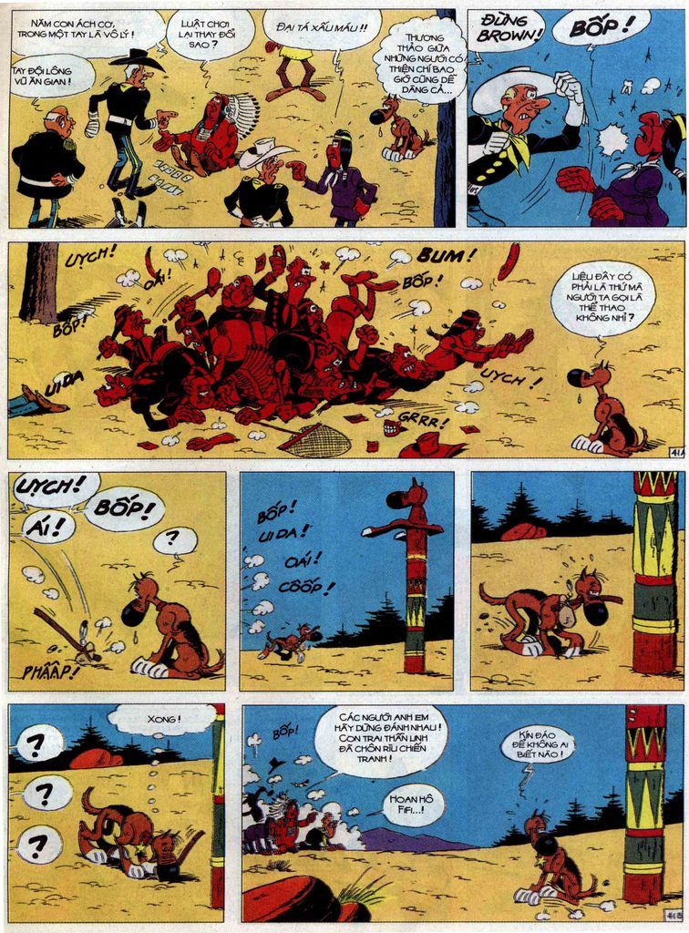 Lucky Luke tập 60 trang 41