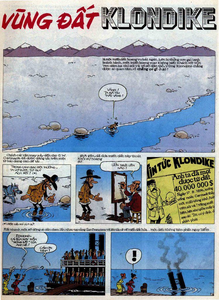 Lucky Luke tập 58 trang 1