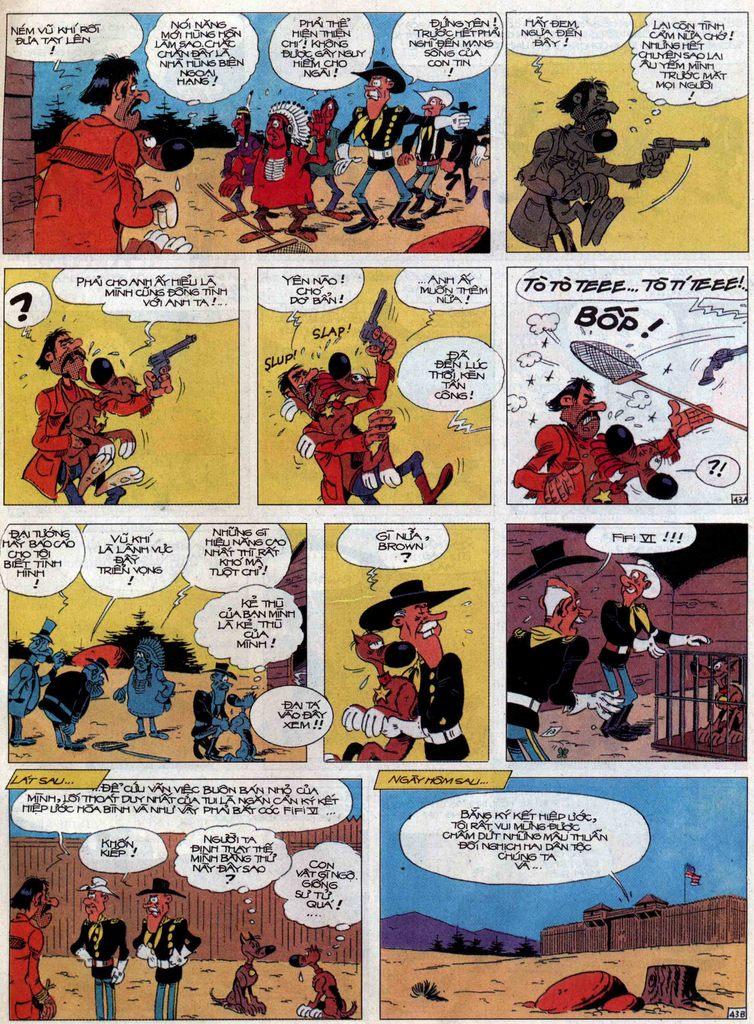 Lucky Luke tập 60 trang 43