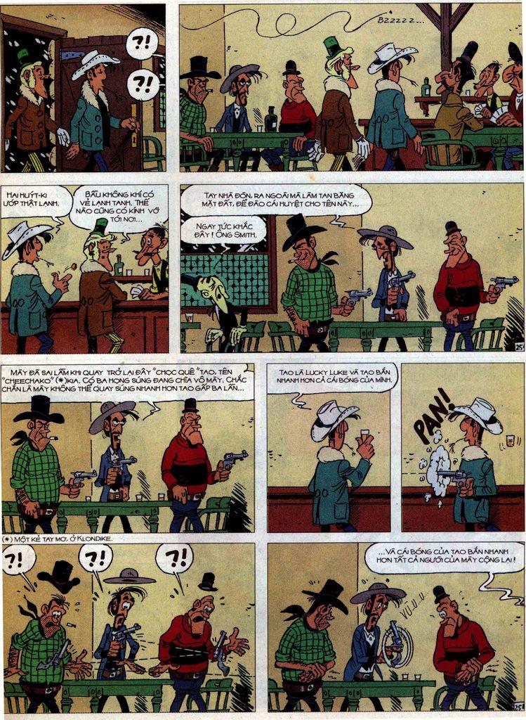 Lucky Luke tập 58 trang 25