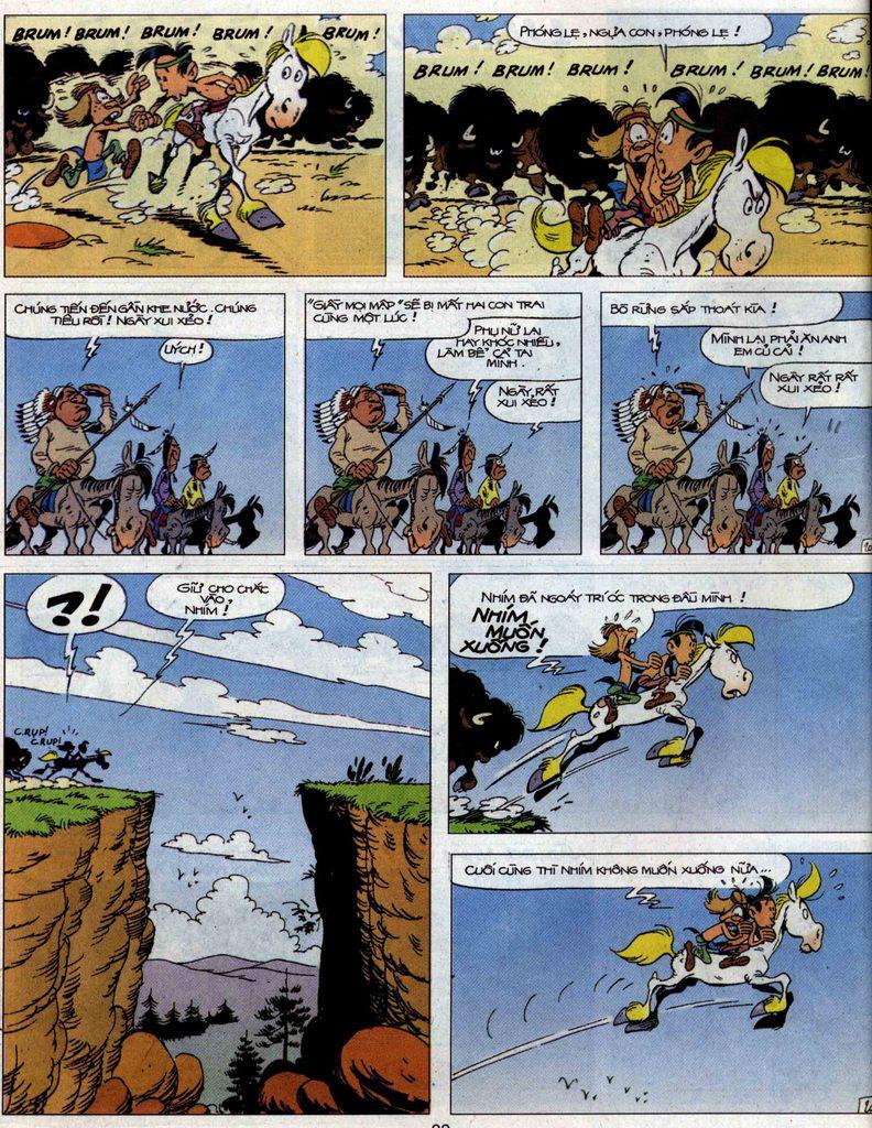 Lucky Luke tập 56 trang 20