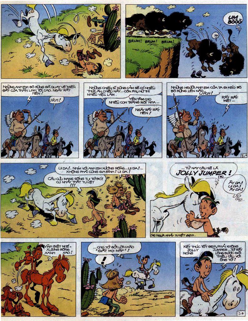 Lucky Luke tập 56 trang 21