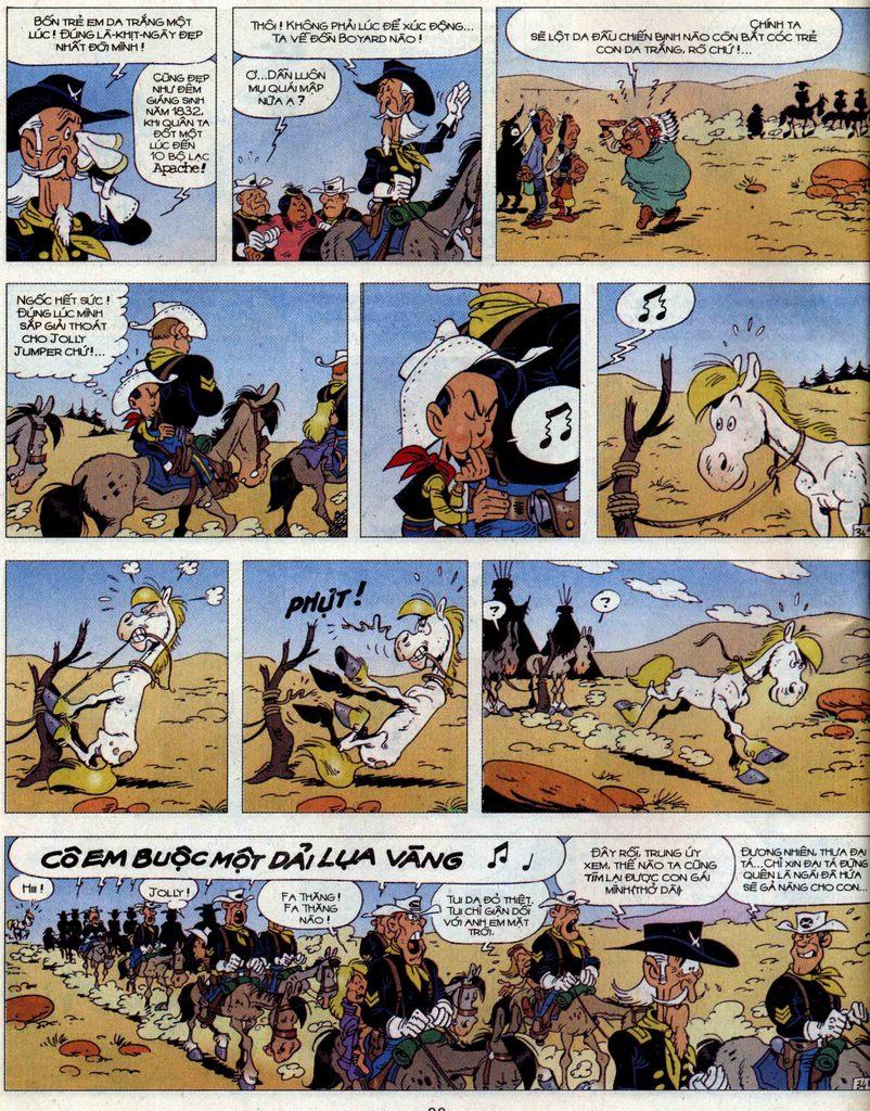 Lucky Luke tập 56 trang 34