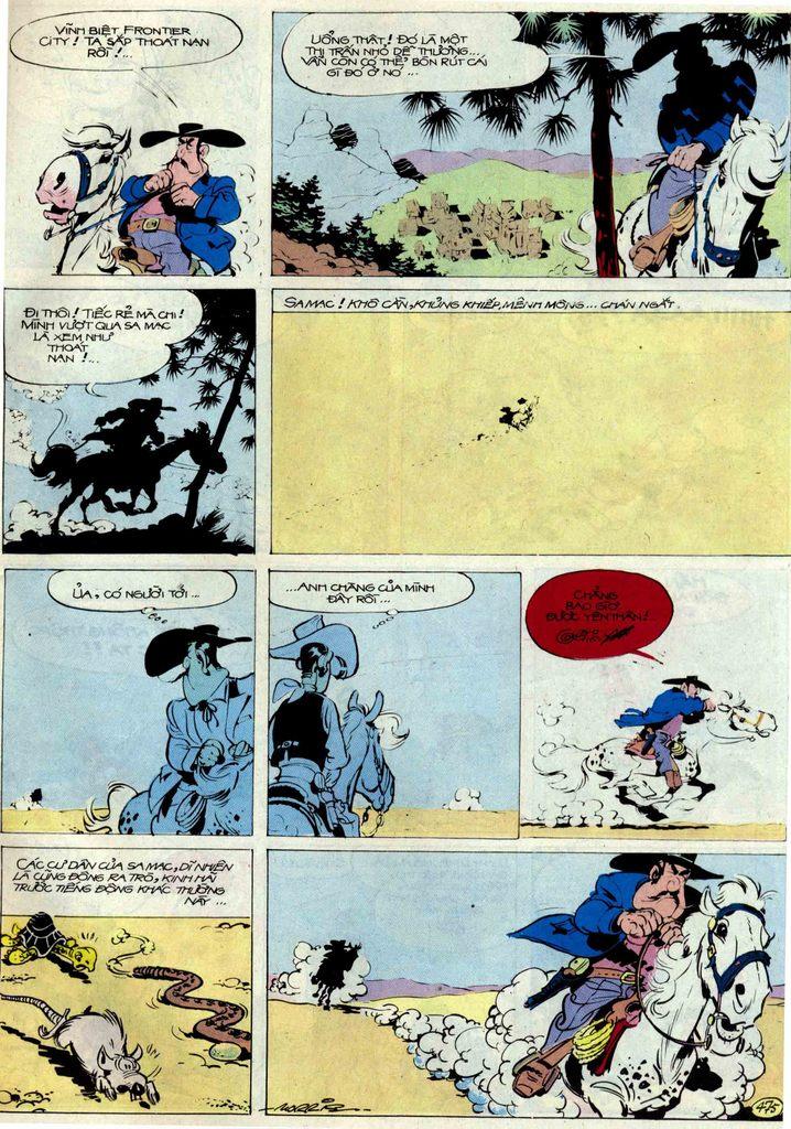 Lucky Luke tập 54 trang 41