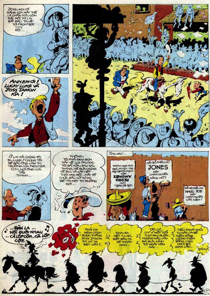 Lucky Luke tập 54 trang 43