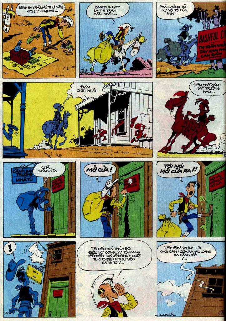 Lucky Luke tập 50 trang 18