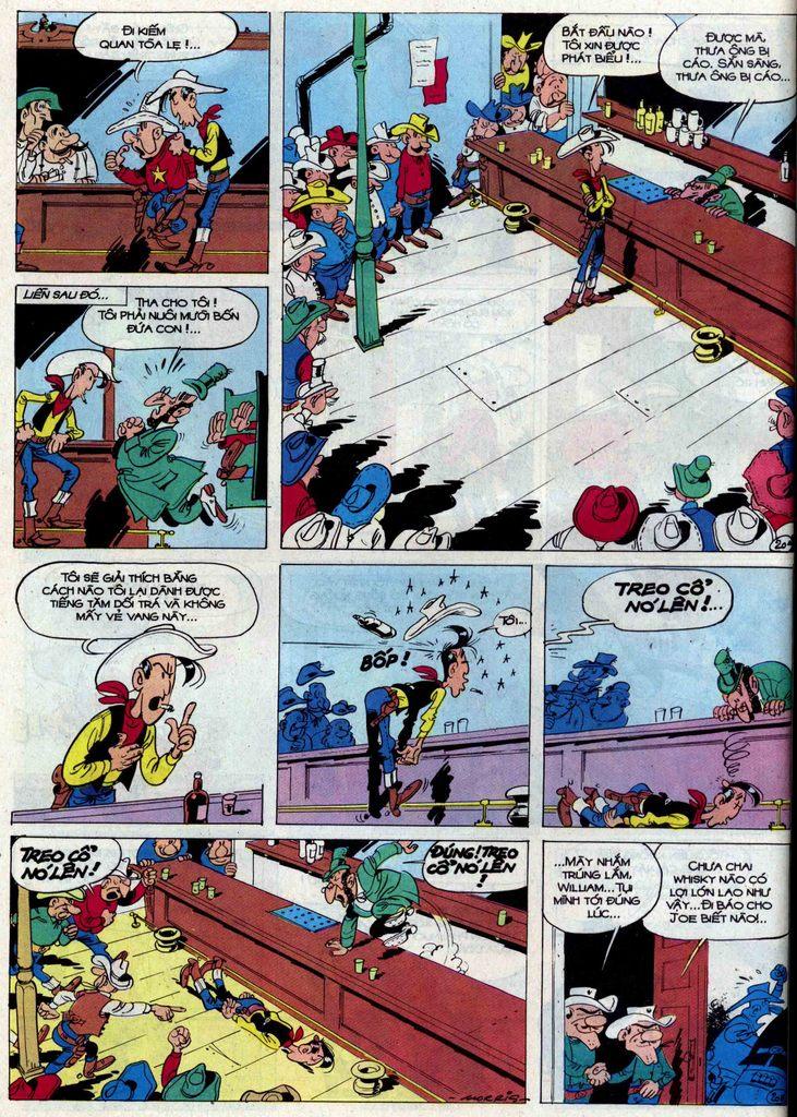 Lucky Luke tập 50 trang 20