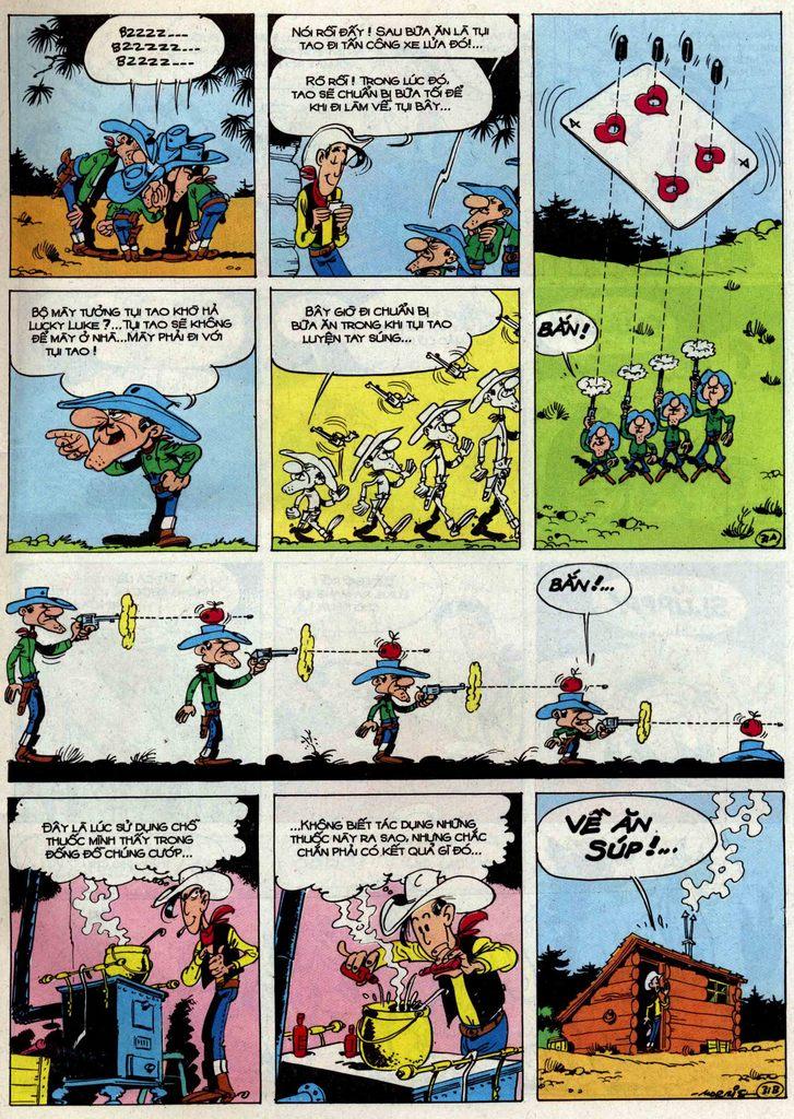 Lucky Luke tập 50 trang 31