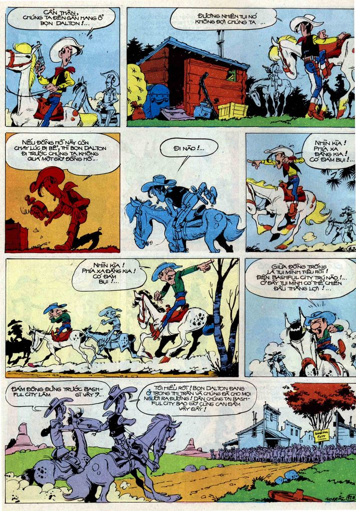 Lucky Luke tập 50 trang 42