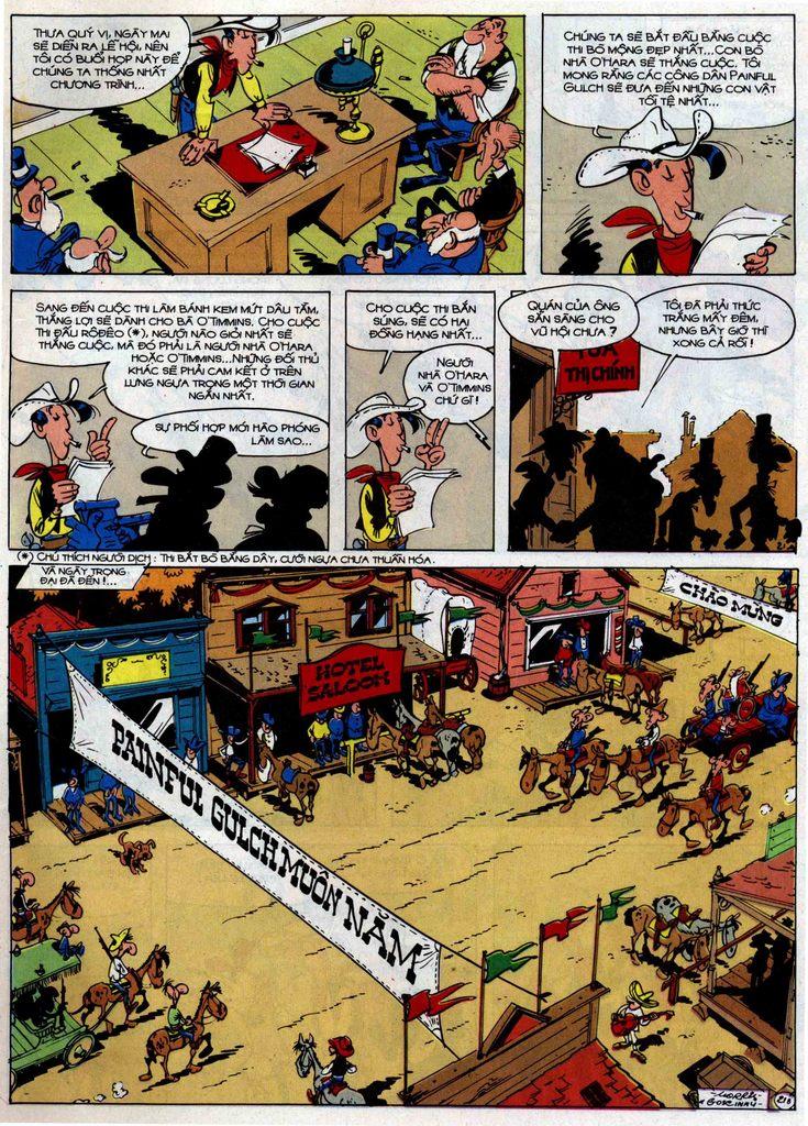 Lucky Luke tập 46 trang 21