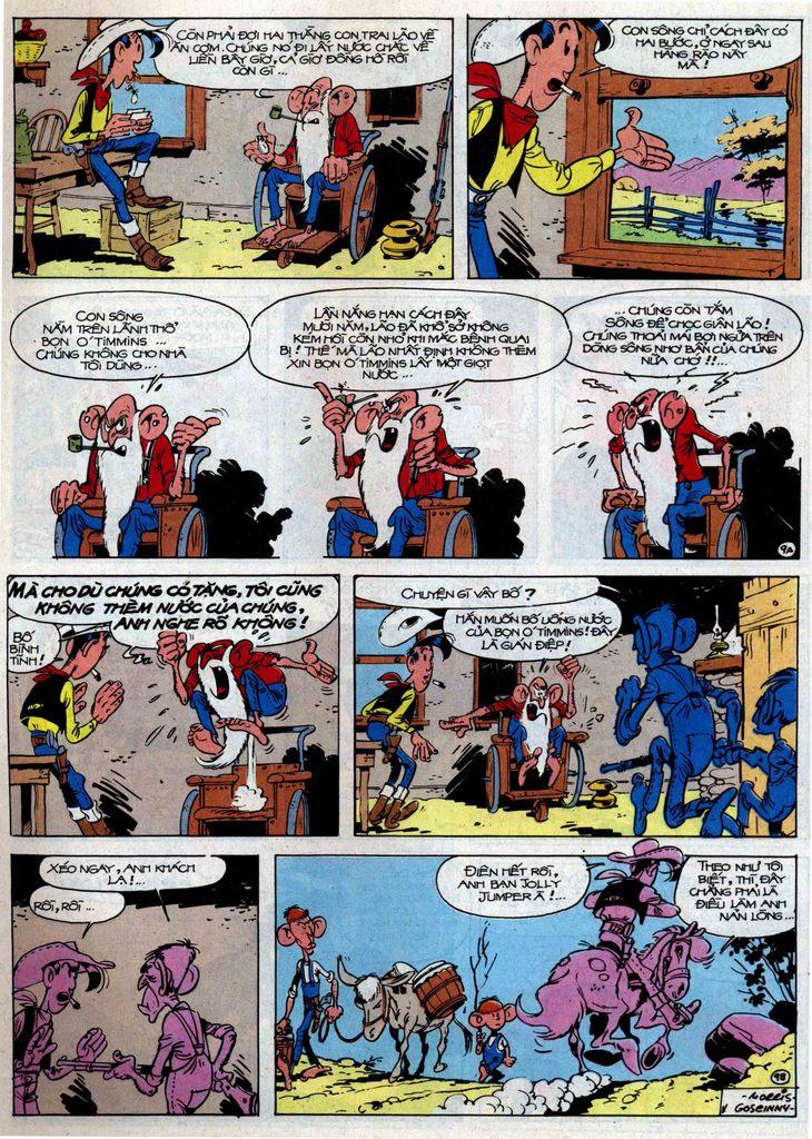 Lucky Luke tập 46 trang 9