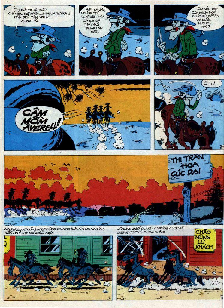Lucky Luke tập 44 trang 12