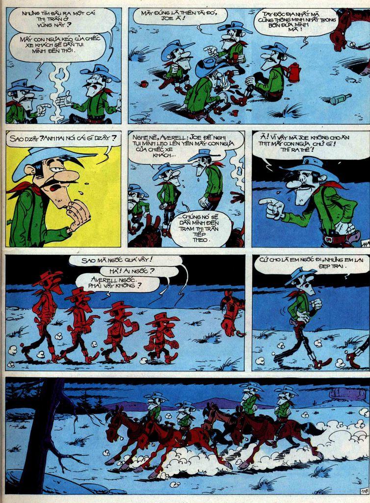 Lucky Luke tập 44 trang 11