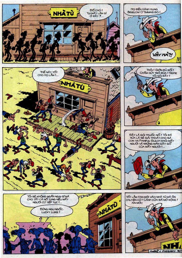 Lucky Luke tập 46 trang 36