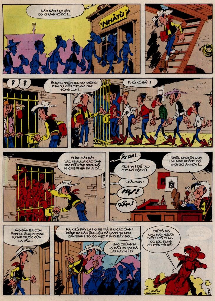 Lucky Luke tập 46 trang 37