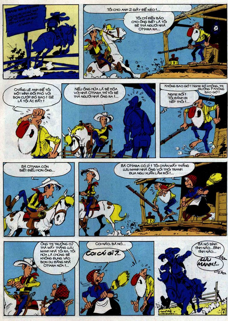 Lucky Luke tập 46 trang 39