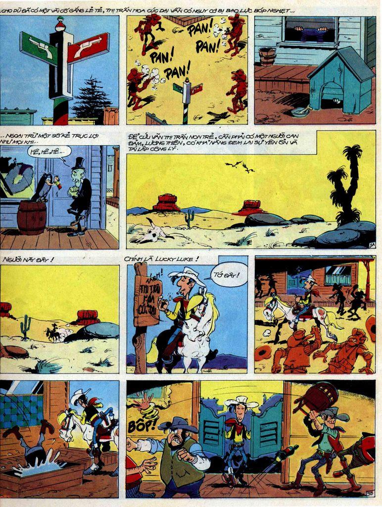 Lucky Luke tập 44 trang 3