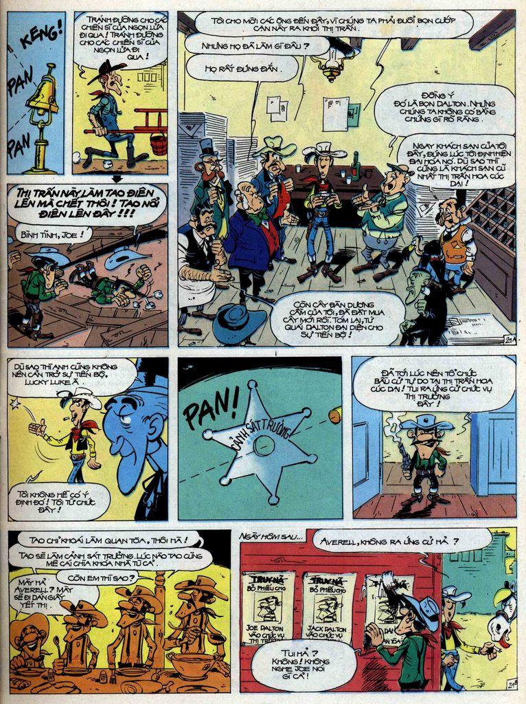 Lucky Luke tập 44 trang 21