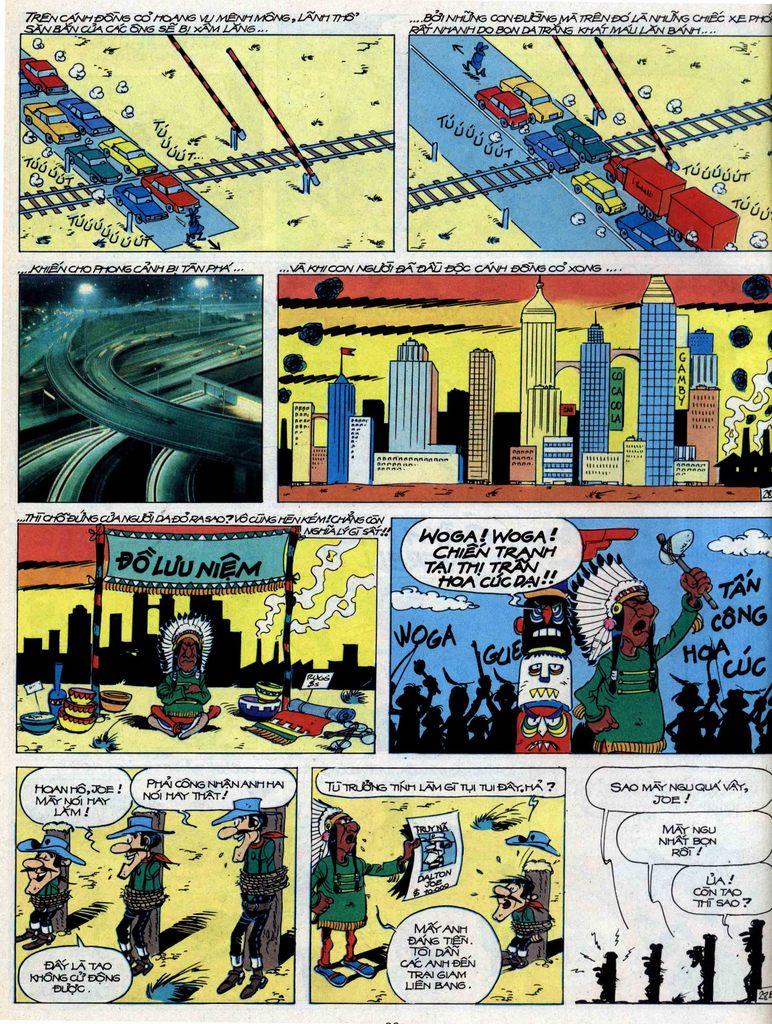 Lucky Luke tập 44 trang 28