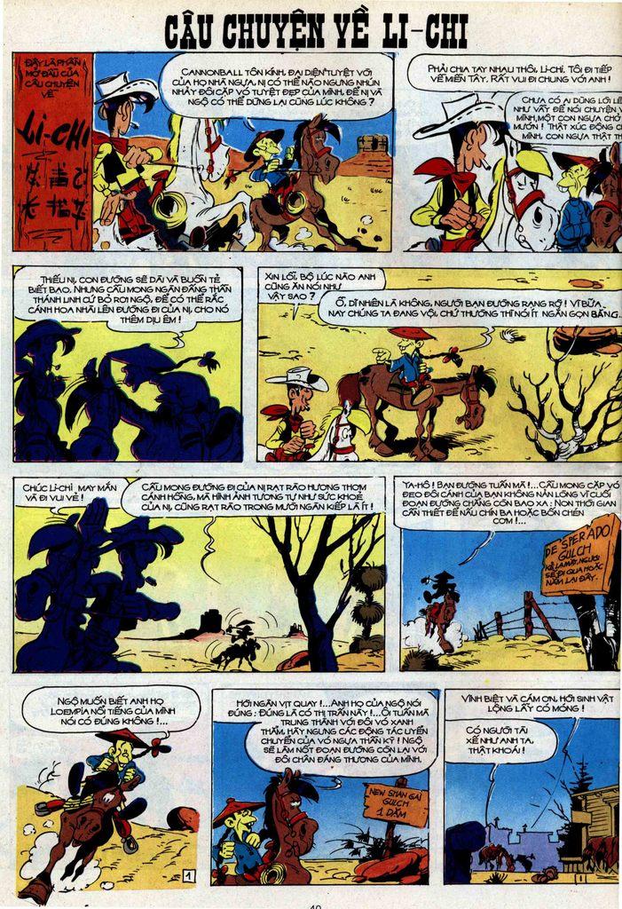 Lucky Luke tập 42 trang 38