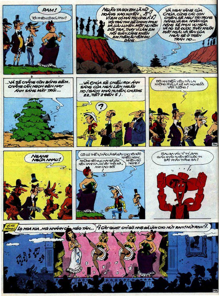 Lucky Luke tập 40 trang 34