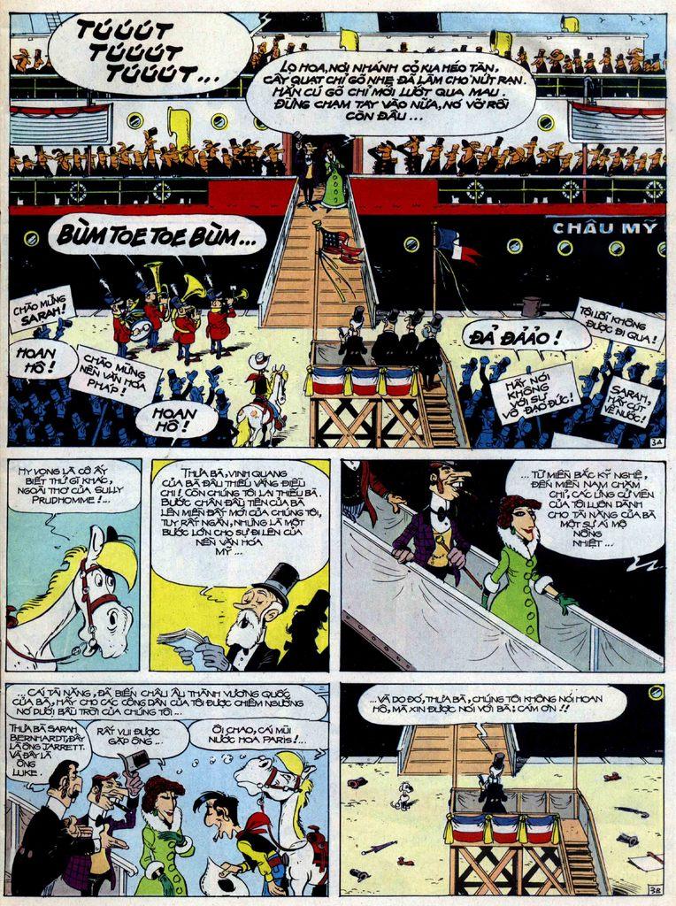 Lucky Luke tập 40 trang 3