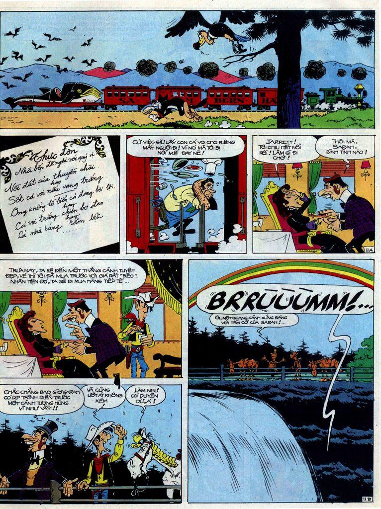 Lucky Luke tập 40 trang 11