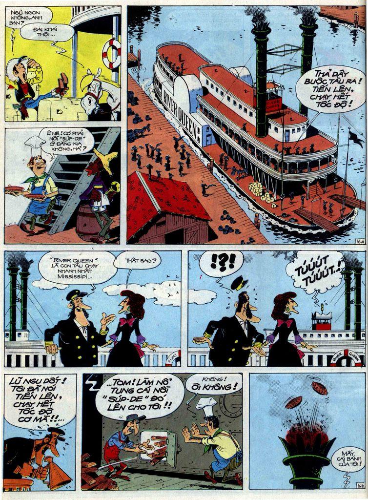 Lucky Luke tập 40 trang 16