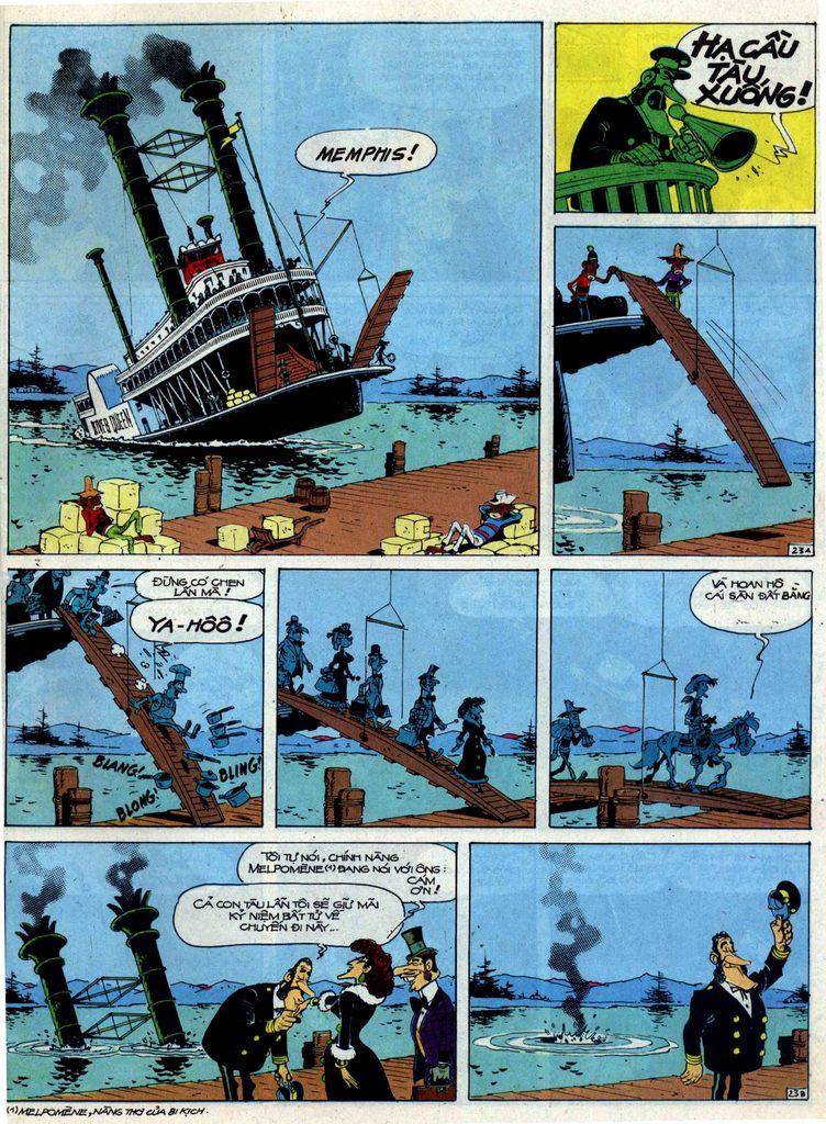 Lucky Luke tập 40 trang 23