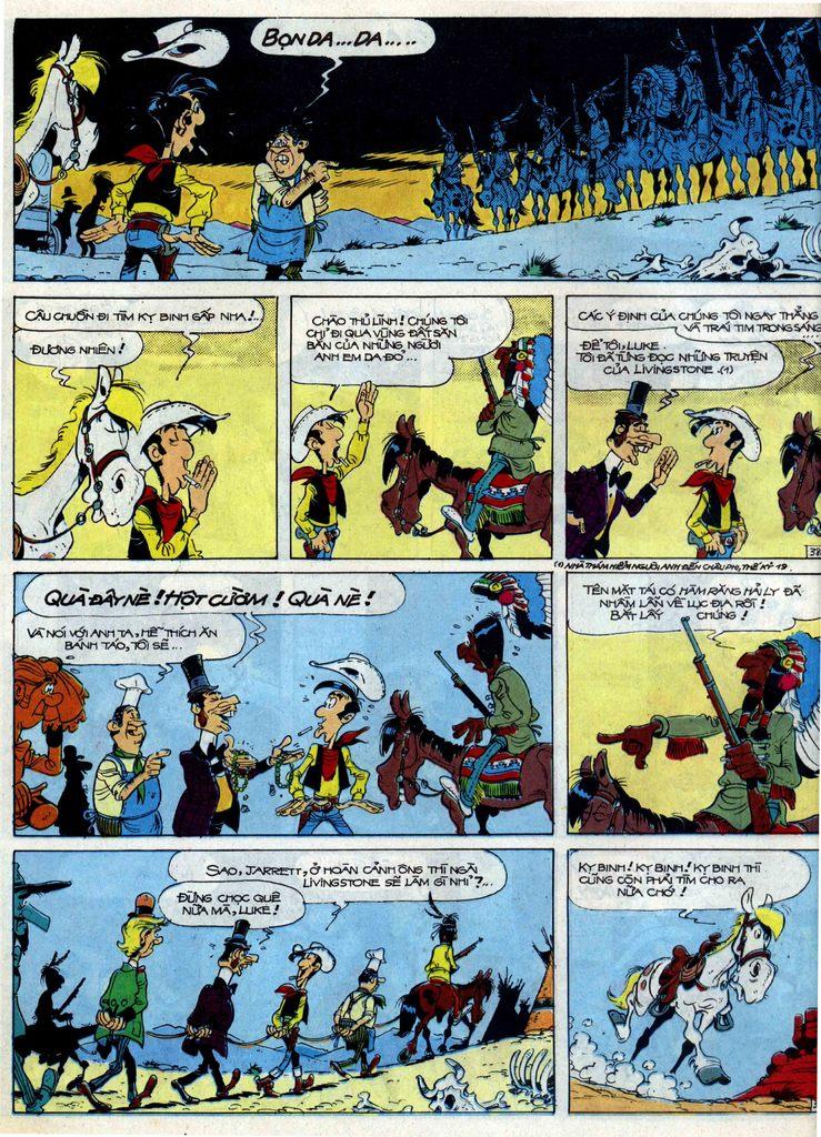Lucky Luke tập 40 trang 38