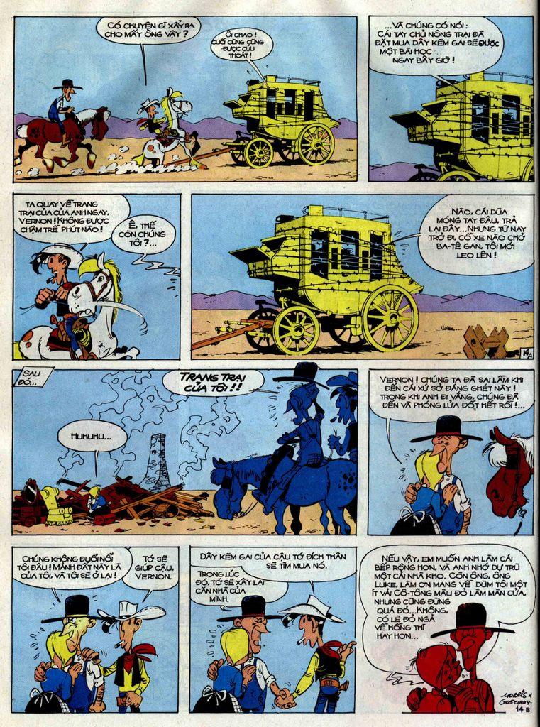 Lucky Luke tập 38 trang 14