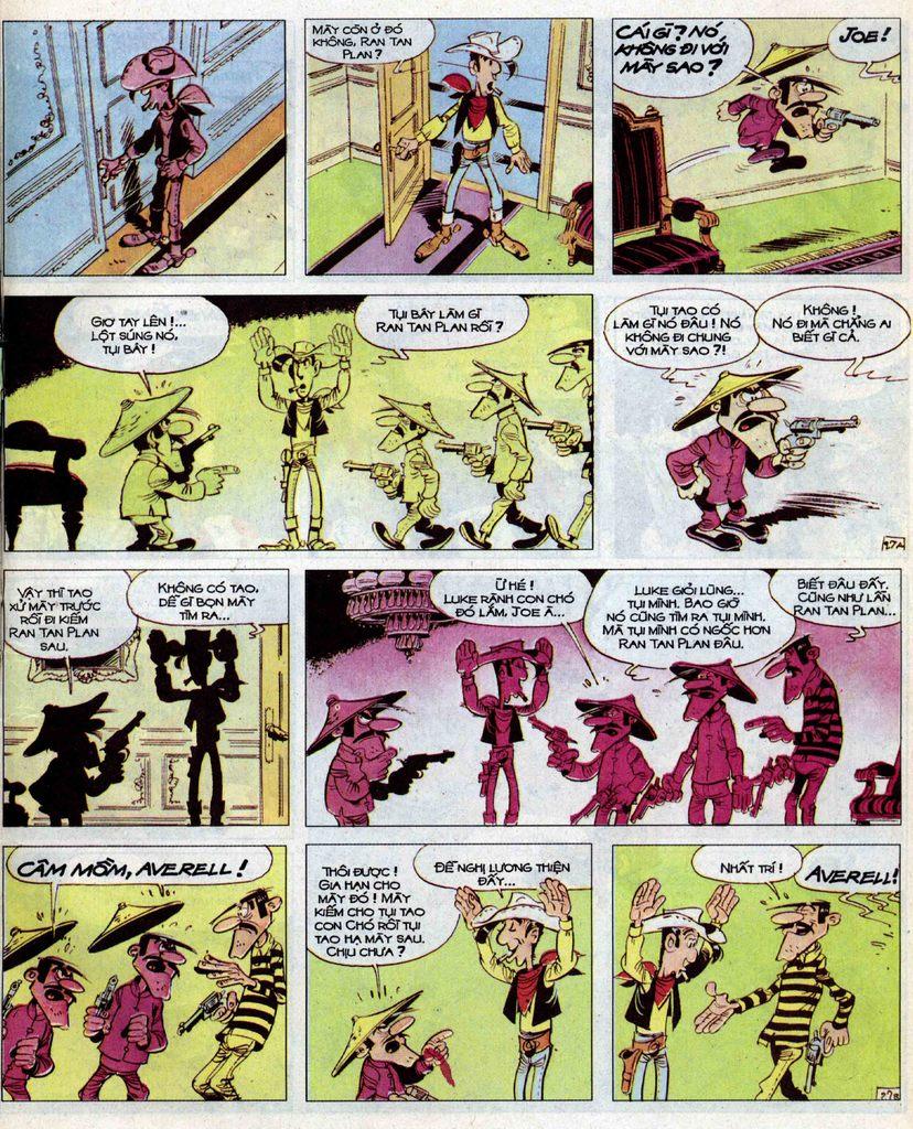 Lucky Luke tập 39 trang 27