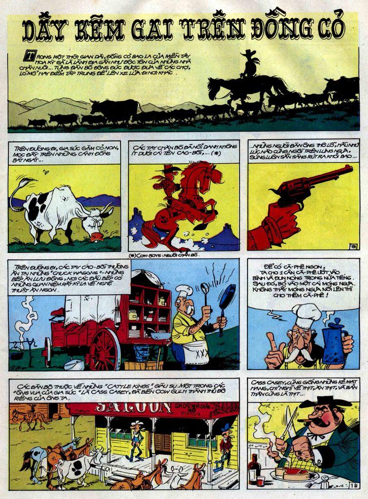 Lucky Luke tập 38 trang 1