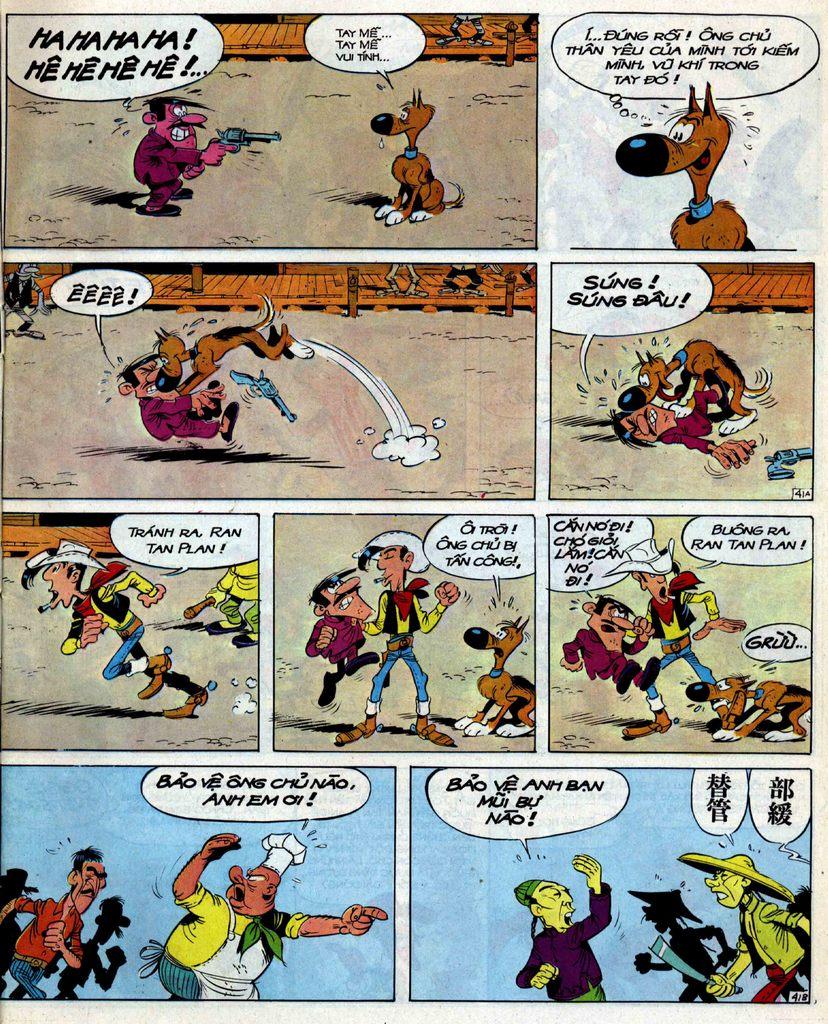 Lucky Luke tập 39 trang 41