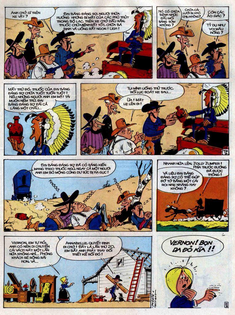 Lucky Luke tập 38 trang 17