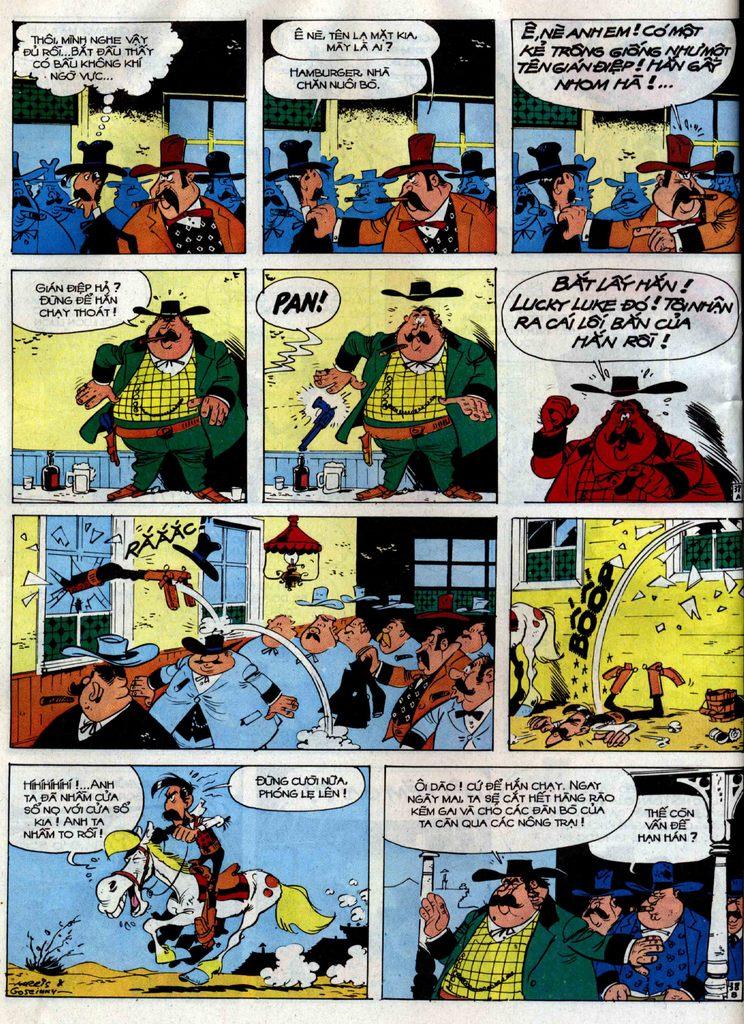 Lucky Luke tập 38 trang 38