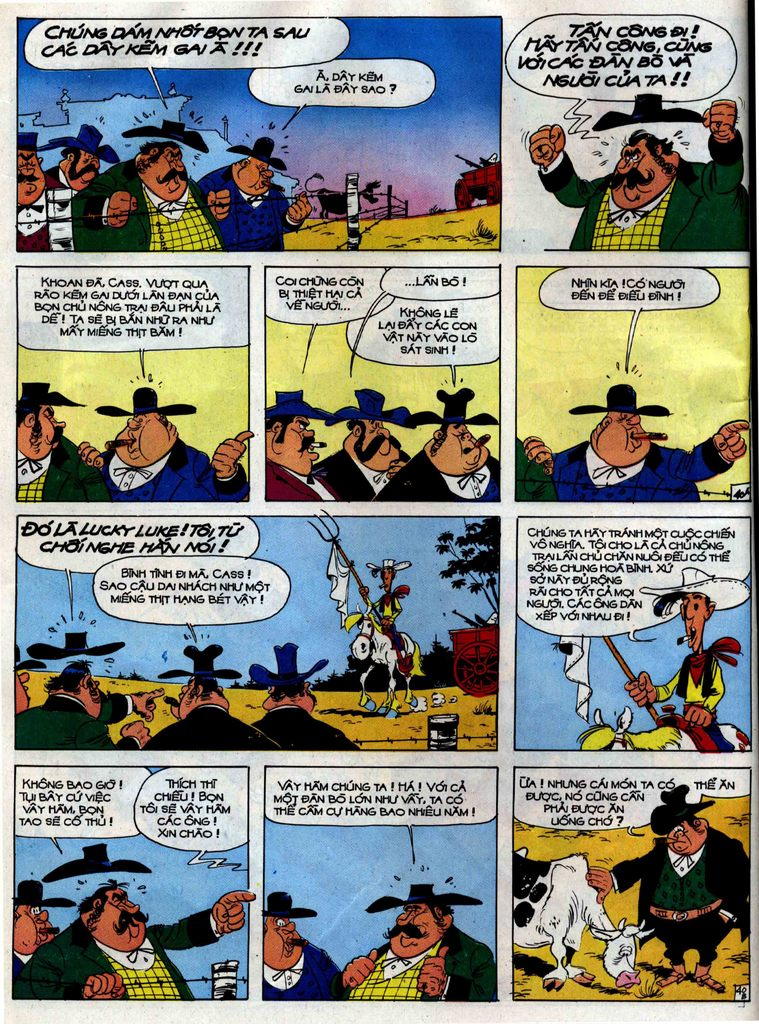 Lucky Luke tập 38 trang 40