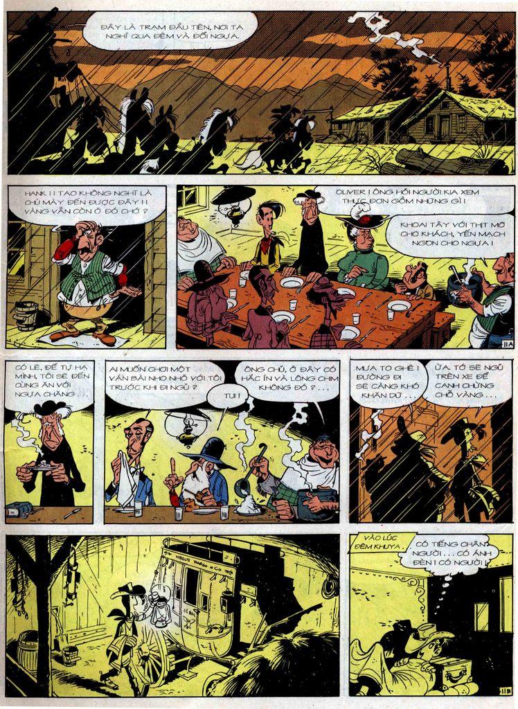 Lucky Luke tập 36 trang 11