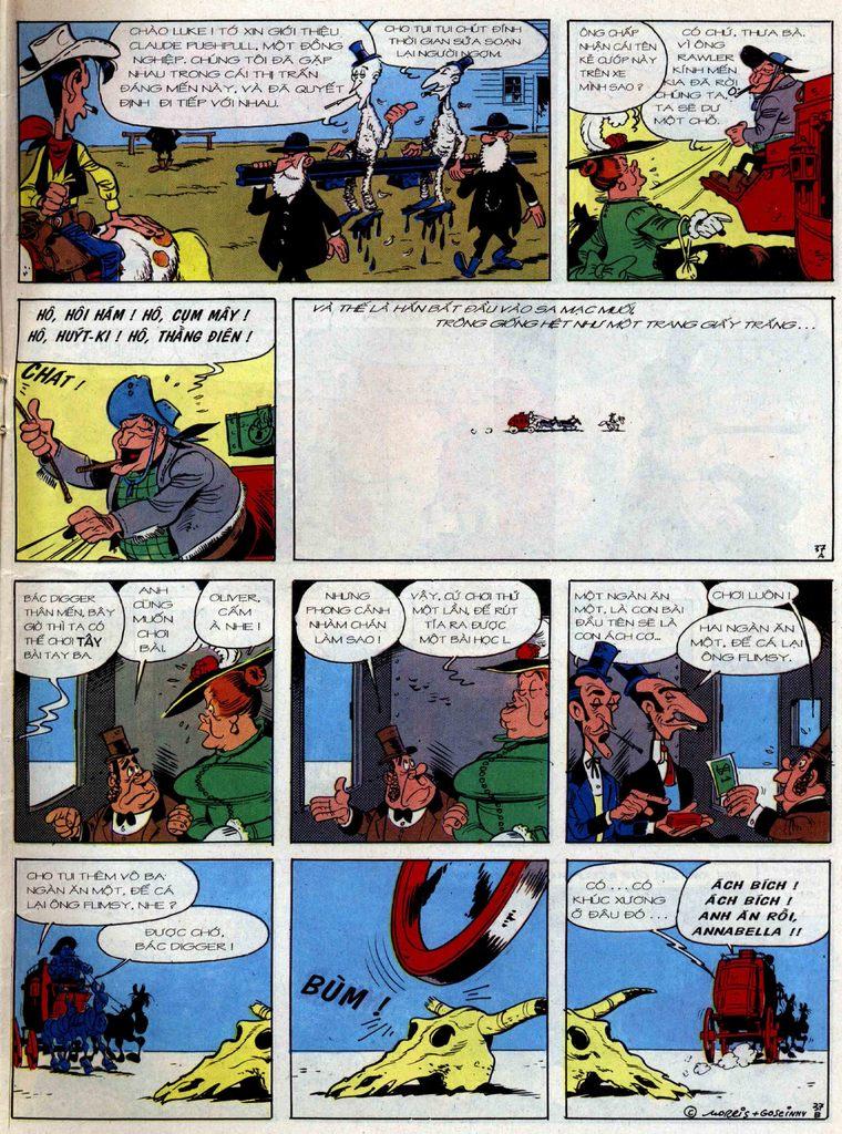 Lucky Luke tập 36 trang 37