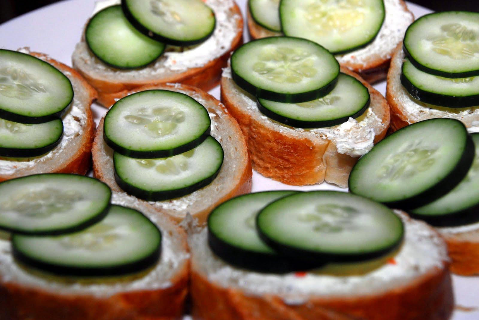 Bites: Cucumber Sandwiches