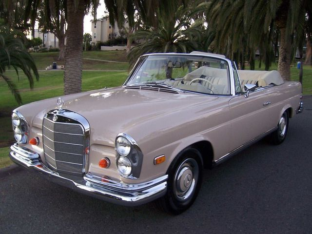 1968 mercedes benz 250 se classic automobiles. Black Bedroom Furniture Sets. Home Design Ideas