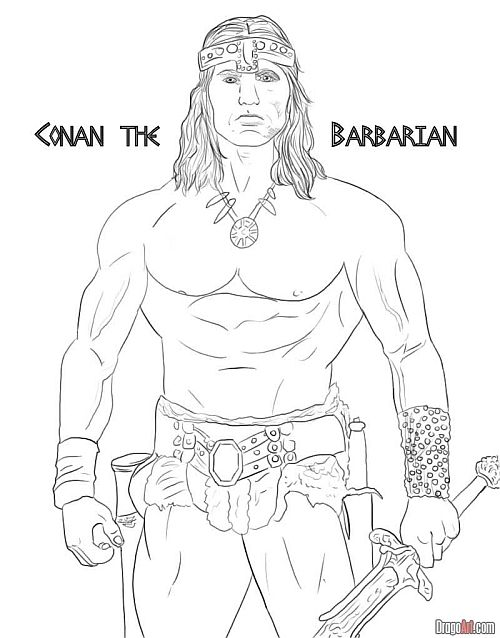 CROM!: How to Draw Conan the Barbarian!