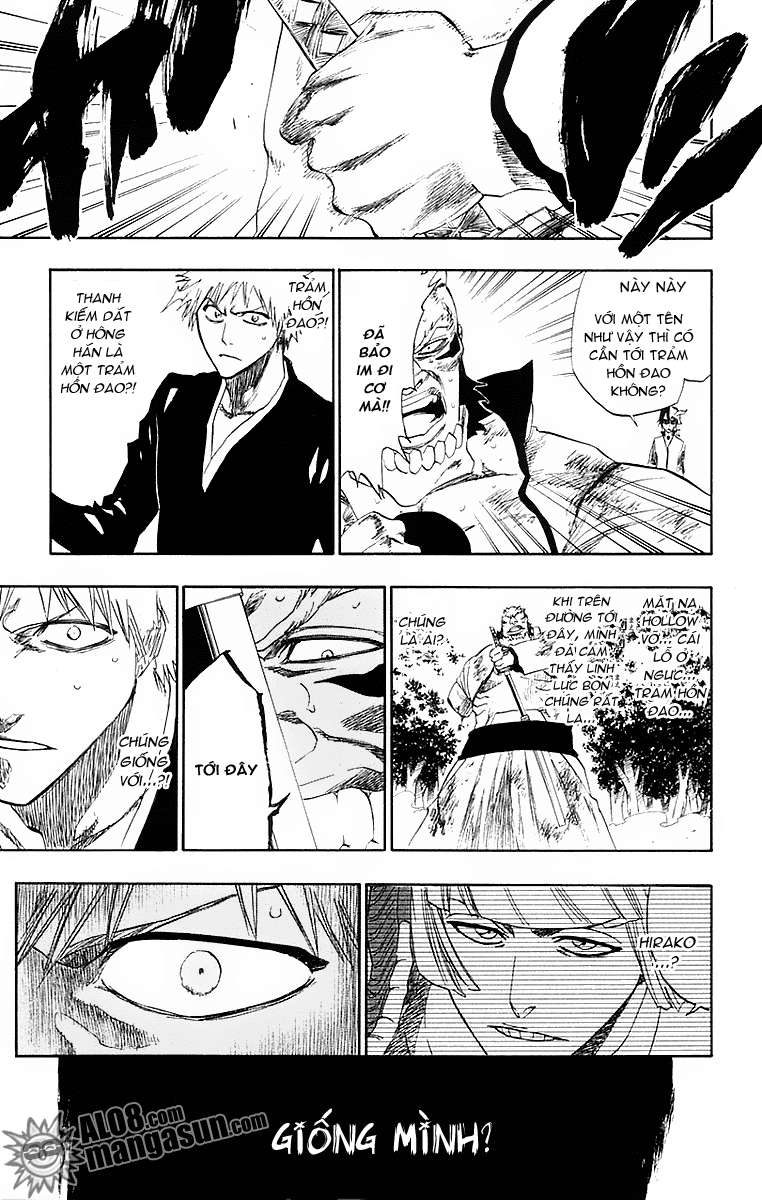 Bleach chapter 193 trang 16