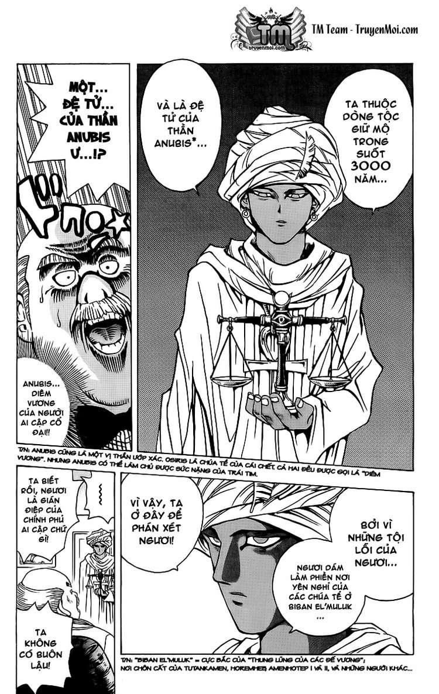 YUGI-OH! chap 13 - người đàn ông đến từ ai cập trang 20